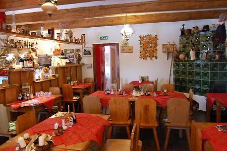 Ubytování Šumava - Penzion u Kašperských hor - restaurace