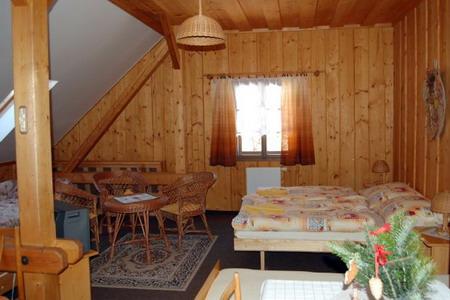 Ubytování penzion Šumava - Penzion u Kašperských hor - pokoj